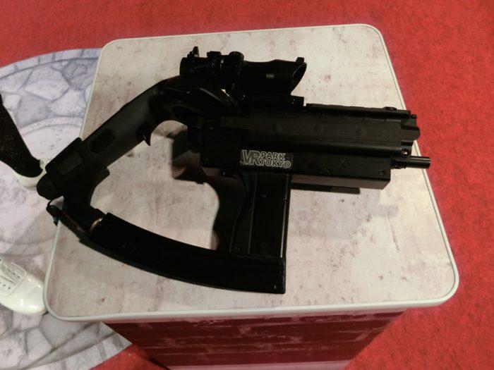 メインプレイヤーが使用する専用の銃